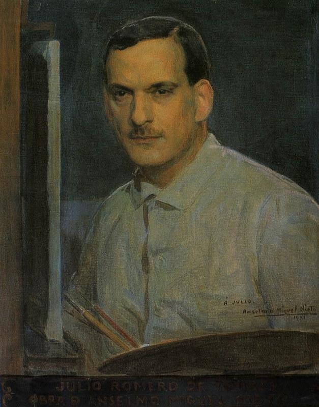 Julio Romero de Torres par Anselmo Miguel Nieto