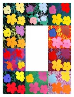 Andy WARHOL (d'après) Flowers Sunday B Morning edition Ensemble de 10 sérigraphies de format PrivateLot.com