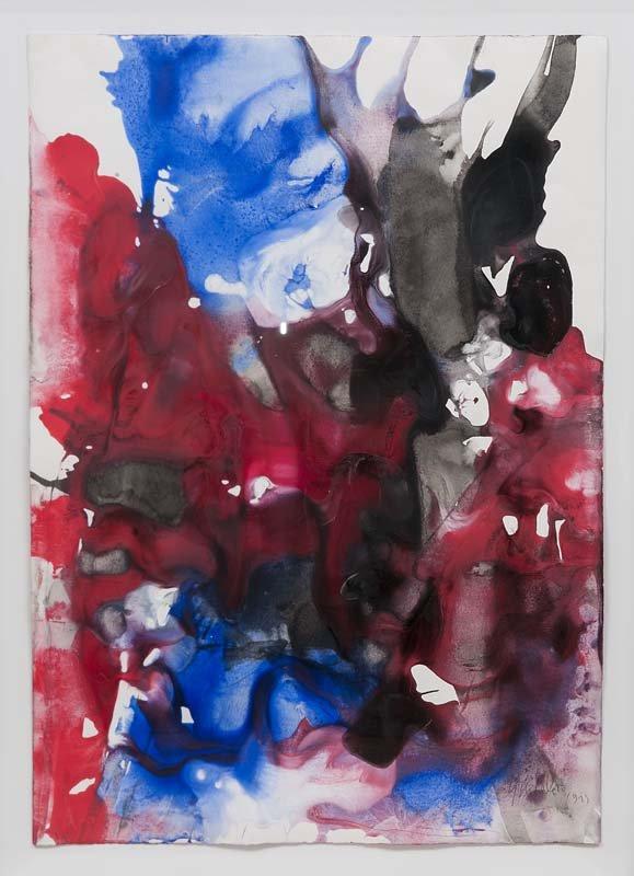 FRED THIELER - Ohne Titel, Mischtechnik/Büttenkarton, 108 x 75 cm, signiert und datiert, 1991 Startpreis: 6.000-12.000 EUR