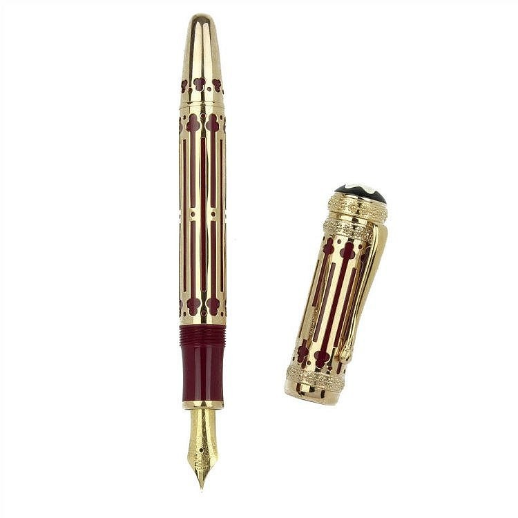 Montblanc Catherine Ii The Great Patron Of Art  Edition limitée 0202/4810