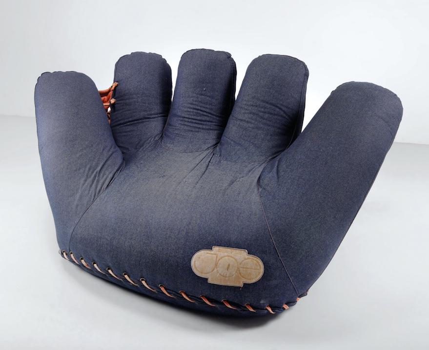 """GIONATAN DE PAS/DONATO D'URBINO/PAOLO LOMAZZI - Lounge Chair Modell P 100/""""Joe"""", 1971"""