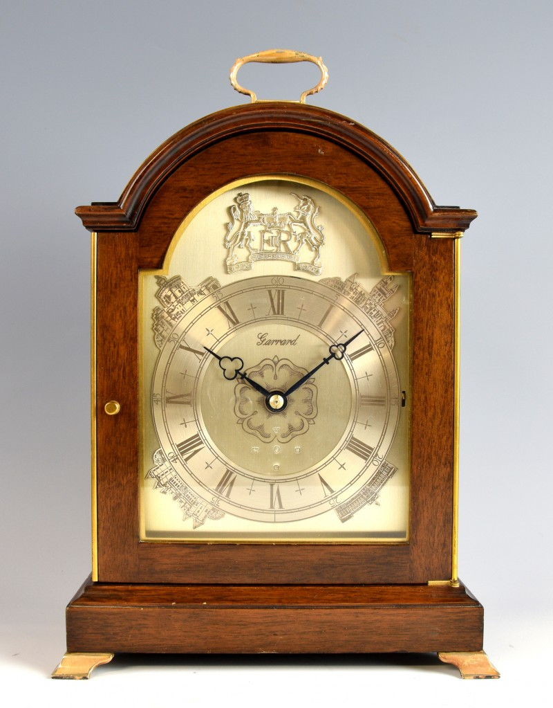 A limited edition Garrard Silver Jubilee Clock had a final price of £1,969