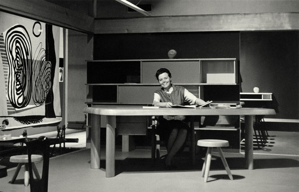 Charlotte Perriand, office, modernism, 50-tal