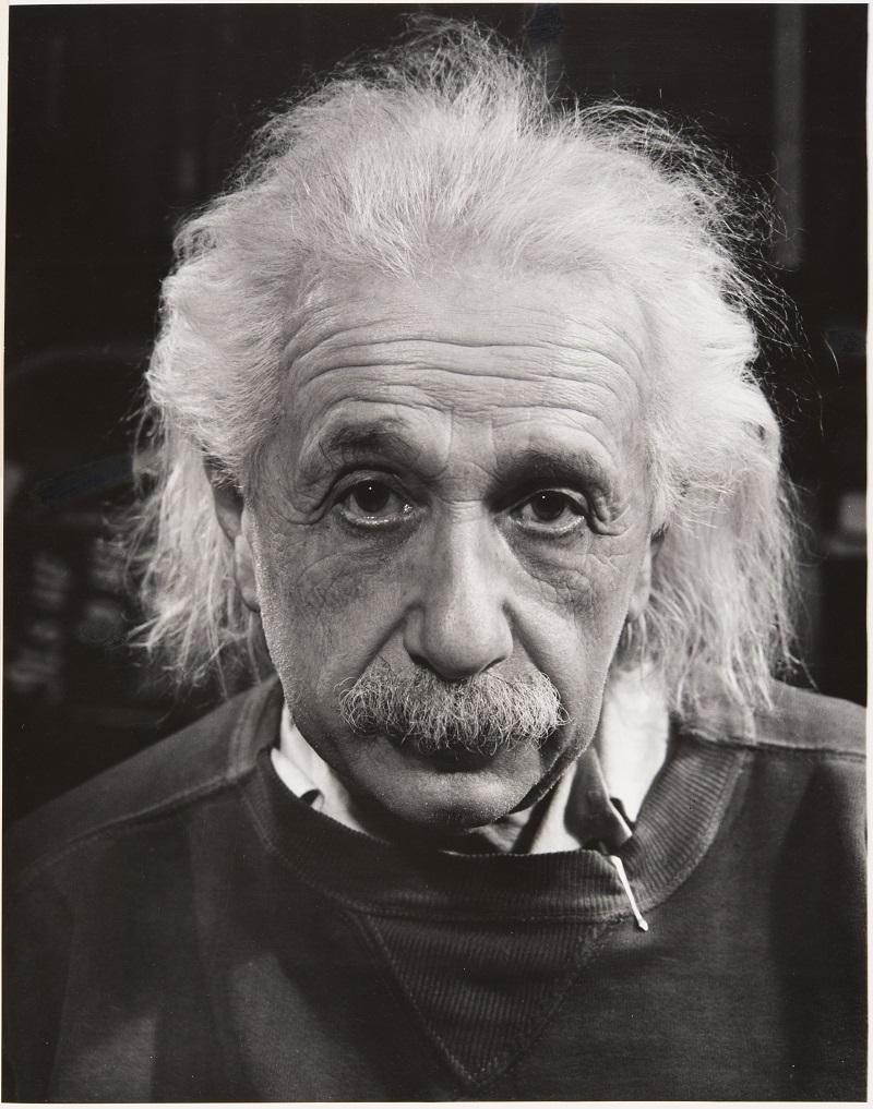 Philippe Halsman. Albert Einstein (1947). © 2016 Philippe Halsman Archive / Magnum Photos