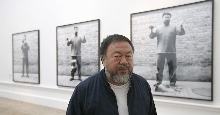 Ai Weiwei. Bild via huffingtonpost.com
