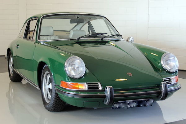 Porsche, 911 E Coupe, 1969. Utropspris: 1 - 1,3 miljoner kronor. 1. August, 20 Uhr