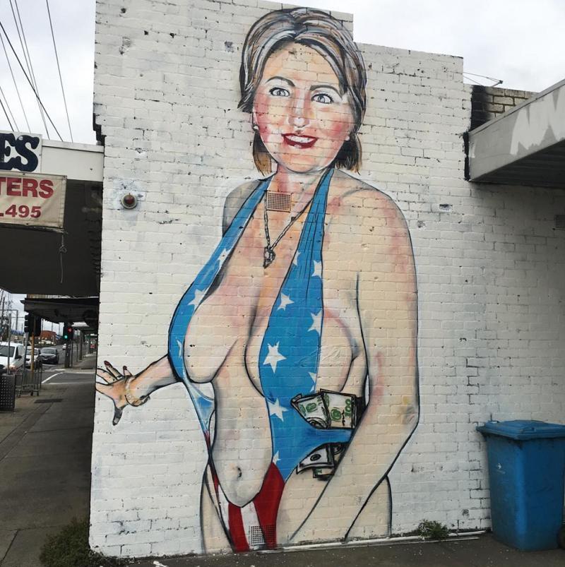 Hilary Clinton por LUSHSUX