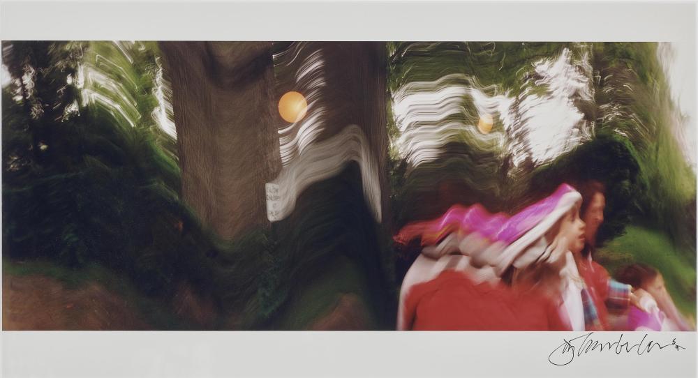 JOHN CHAMBERLAIN (1927 Rochester - 2011 New York City) - Ohne Titel, C-Print/Fotopapier, signiert und nummeriert, 1997