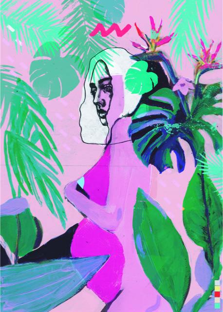 Liberty Gallery, Marcelina Amelia, MOTHER GODDESS 2018, £350, A1 ORIGINAL LIMITED EDITION PRINT, EDITION OF 50. Bild: Artely
