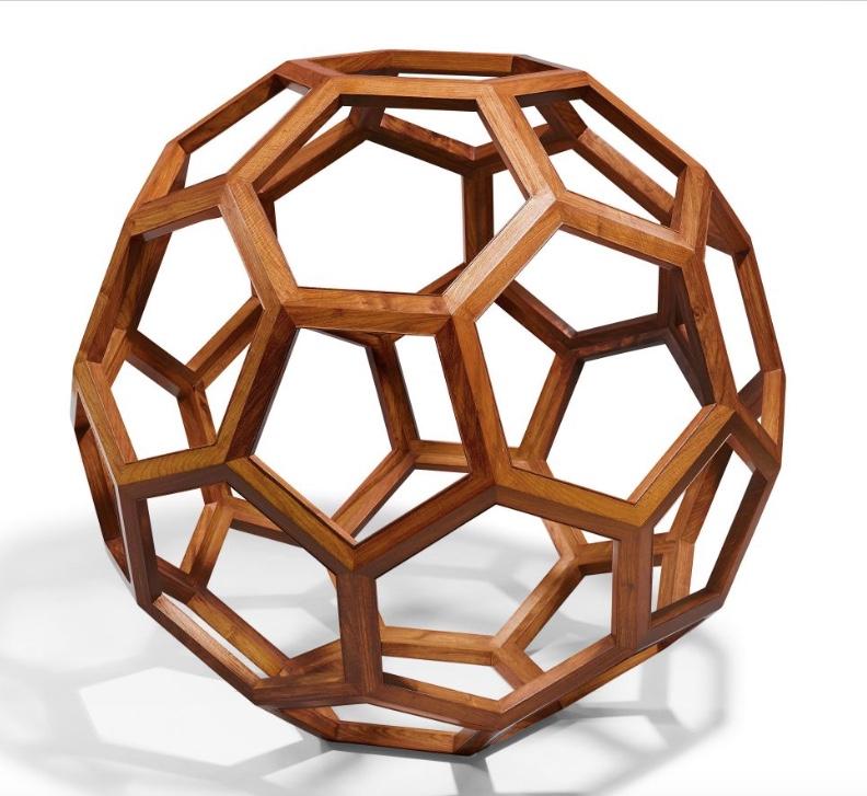 AI WEIWEI (*1957 Peking) - Ohne Titel (Foster Divina), Huanghuali Holz, D: 130 cm, mit Bestätigung des Künstlers Schätzpreis: 180.000-260.000 CHF (166.670-240.740 EUR)