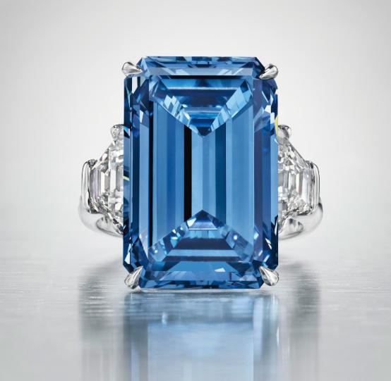 The Oppenheimer Blue. Bild Christie's.