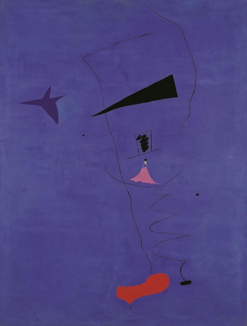 JOAN MIRÓ - Étoile bleue (1927) | Foto: Sotheby's