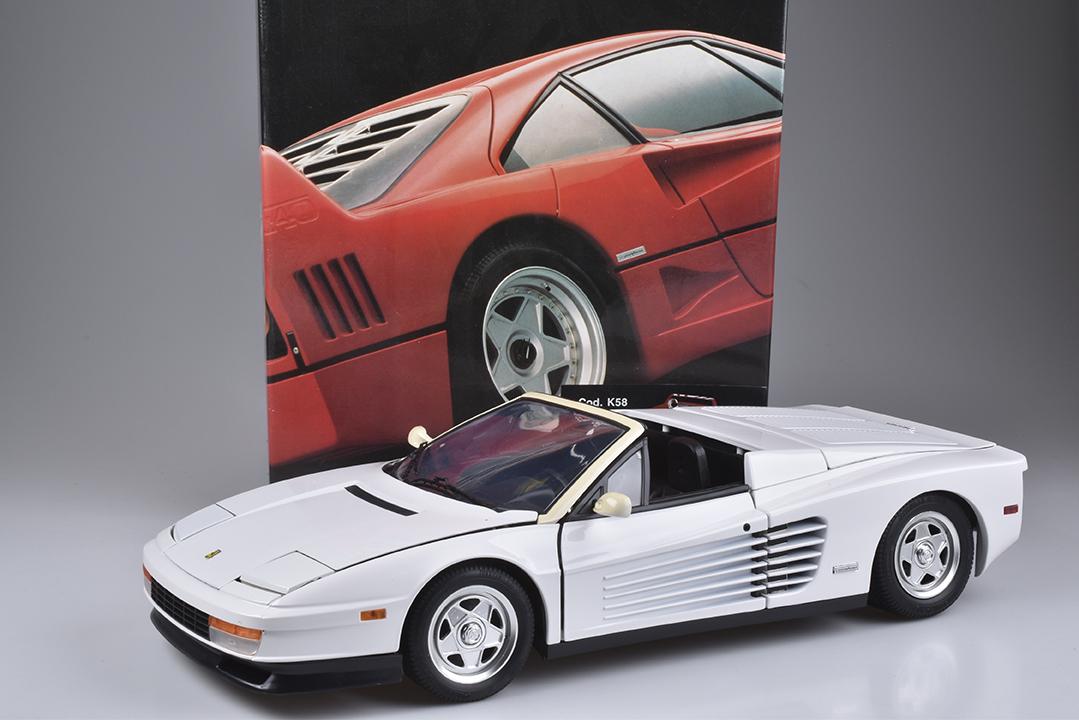 POCHER RIVAROSSI - Ferrari F 40, Metall, Kunststoff, M1:8