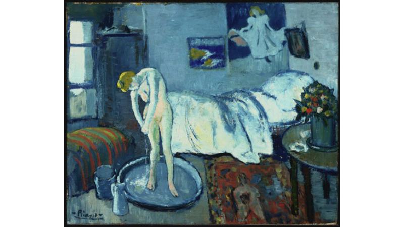 Pablo Picasso La maison bleue, 1901