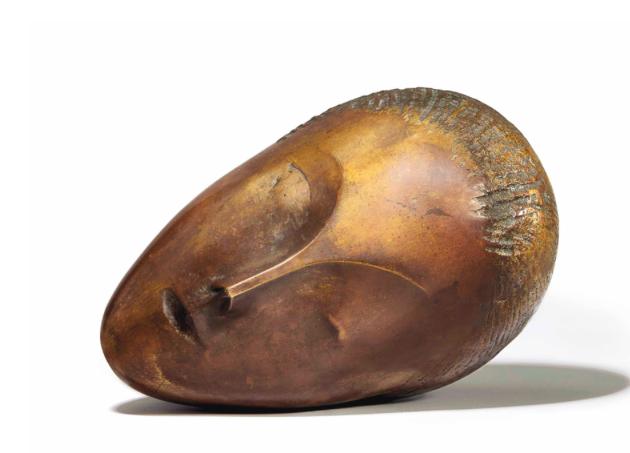 The sleeping muse, Constantin Brancusi. Image: Barnebys.fr