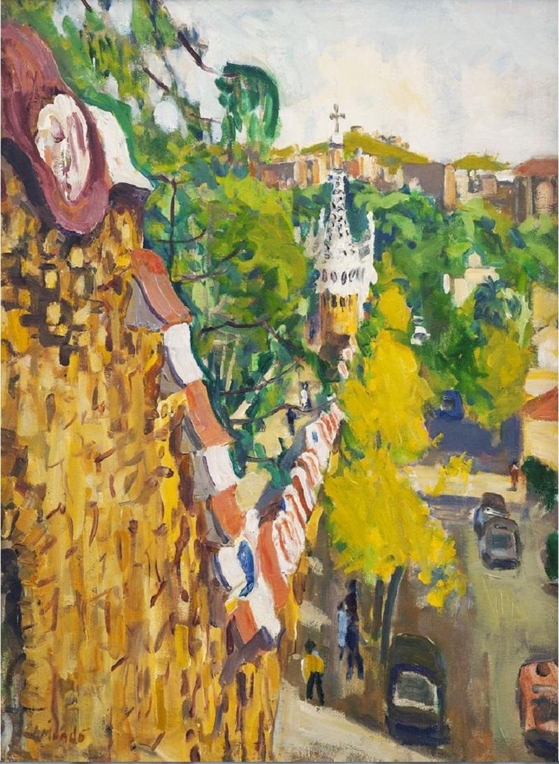 "IGNASI MUNDÓ MARCET (Barcelona, 1918). ""Parque Güell"""