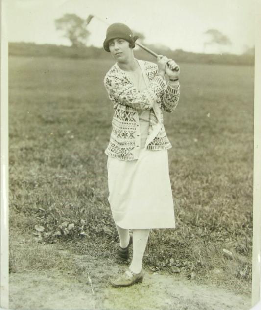 1926 Glenna Collett Swing Photo
