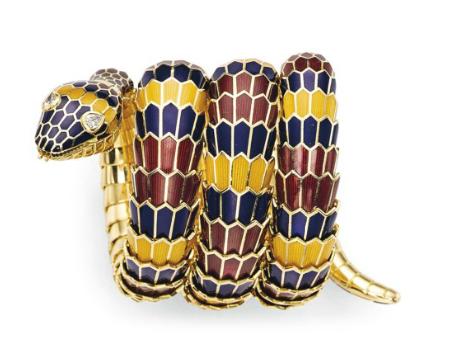 Bracelet 'Serpenti' par Bvlgari Christie's