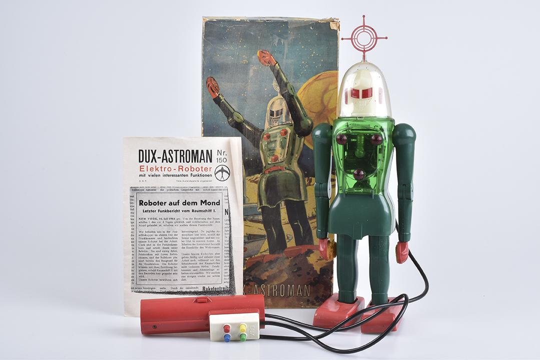 DUX-ASTROMAN Electric Robot, um 1960 | Foto: Alino