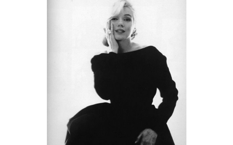 Marilyn Monroe in Christian Dior Haute Couture, photographed by Bert Stern, for 'Vogue' 1962