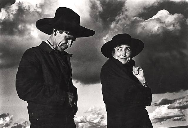 Georgia-OKeeffe-and-Orville-Cox-Ansel-Adams