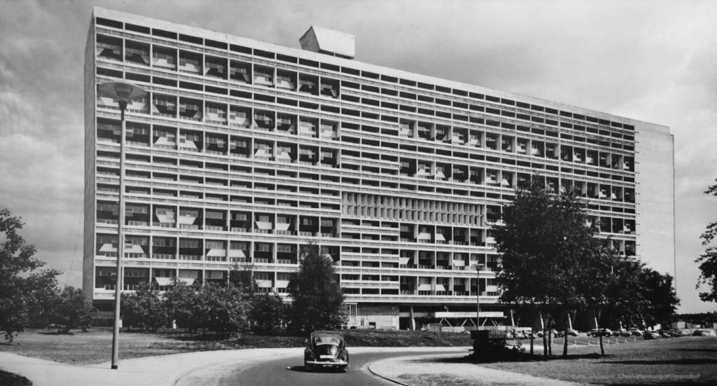 Le Corbusiers Unité d'Habitation in Berlin, 1956-58