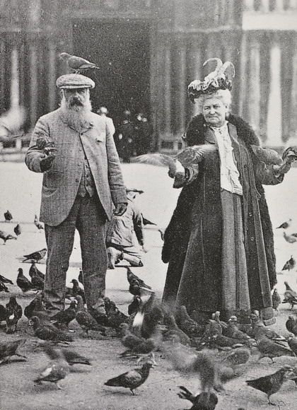 Monet et sa femme Alice à Venise, image via SomethingforYou