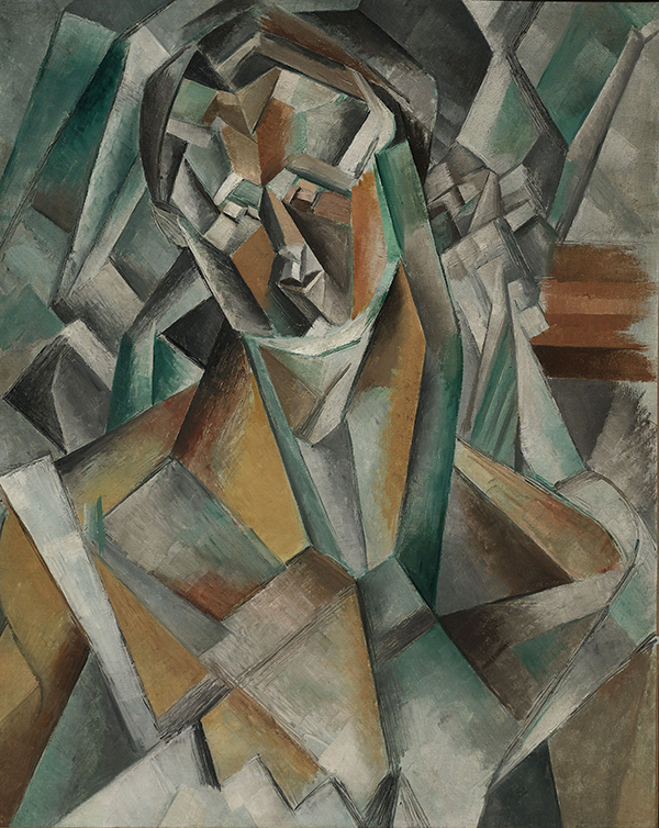 Pablo Picasso, Femme Assise (1909) Courtesy of Sotheby's London