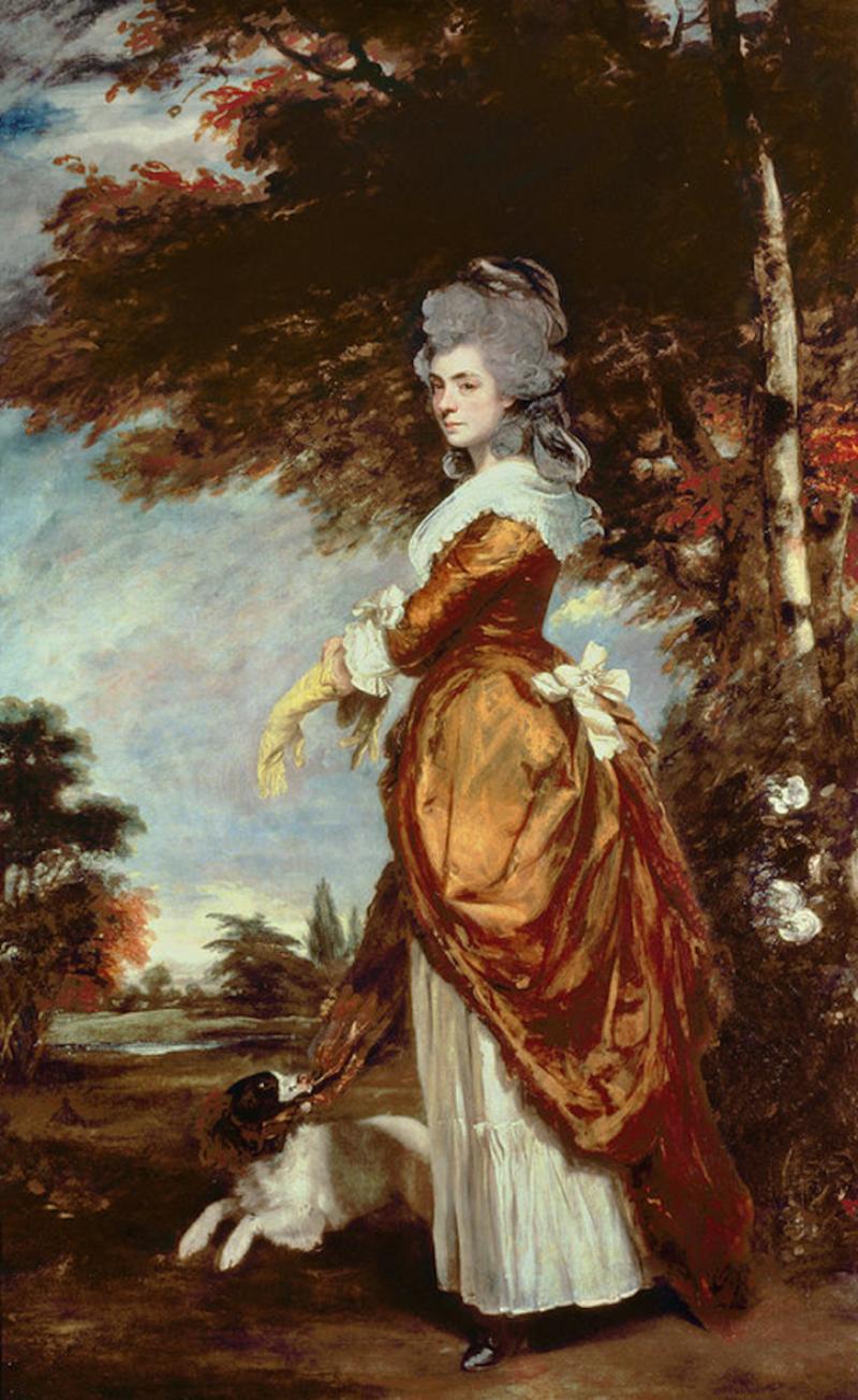"""Joshua Reynolds, """"Mary Amelia, Countess of Salisbury"""" (1780-89)"""