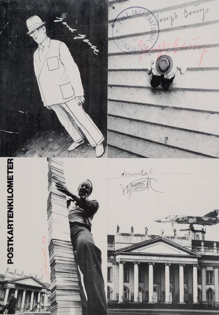 Joseph Beuys, documenta 6, Multiple Offset, handsigniert, ca. 30 x 21 cm Mindestgebot: 150 EUR Henry's