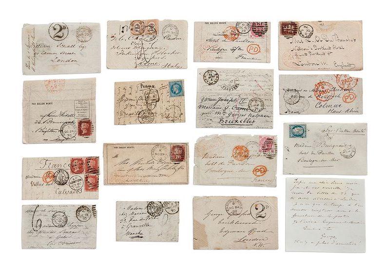 只有美国驻巴黎大使沃什伯恩先生获得俾斯麦授权才能通过这些线路获得外交信息,以换取对在法国的普鲁士桥名的保护,图片来自于Aguttes拍卖行