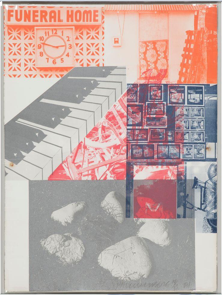 ROBERT RAUSCHENBERG. Sin título (1981)