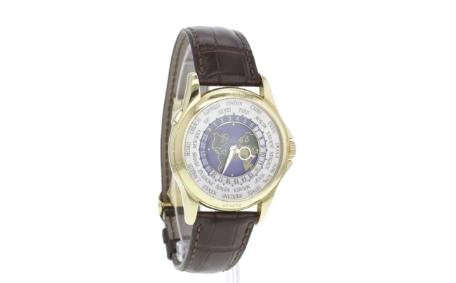 Montre Patek Philippe World Time Estimation basse: 54 800 euros