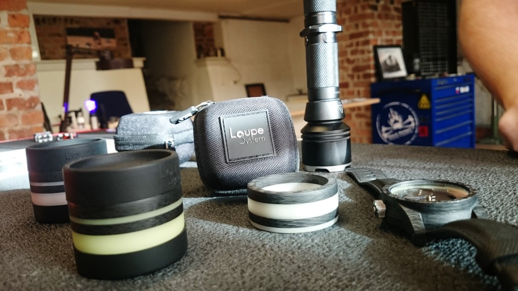 Loupe System and all the paraphernalia that is needed!