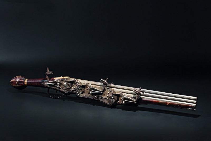 Arma, tiro de tres. Alemania (1610). Precio estimado: 30.000 €