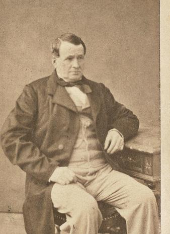 Gründer Thierry Hermès (1801-1878) | Foto via Vintage Fashion Guide