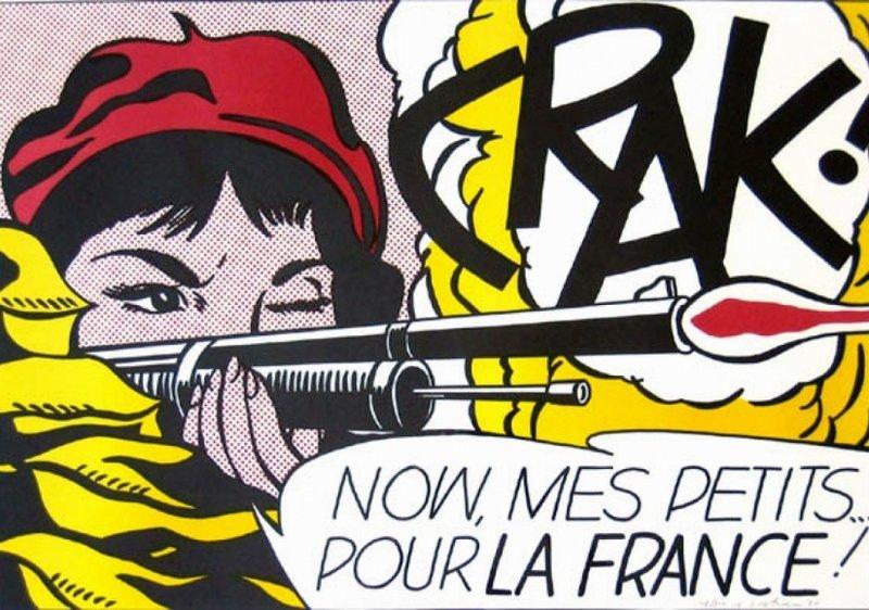 Roy Lichtenstein, Crak! (C. II.2), 1963