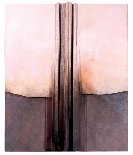 Francisco Farreras, Untitled (2005), blandteknik. Foto: Duran Arte y Subastas.