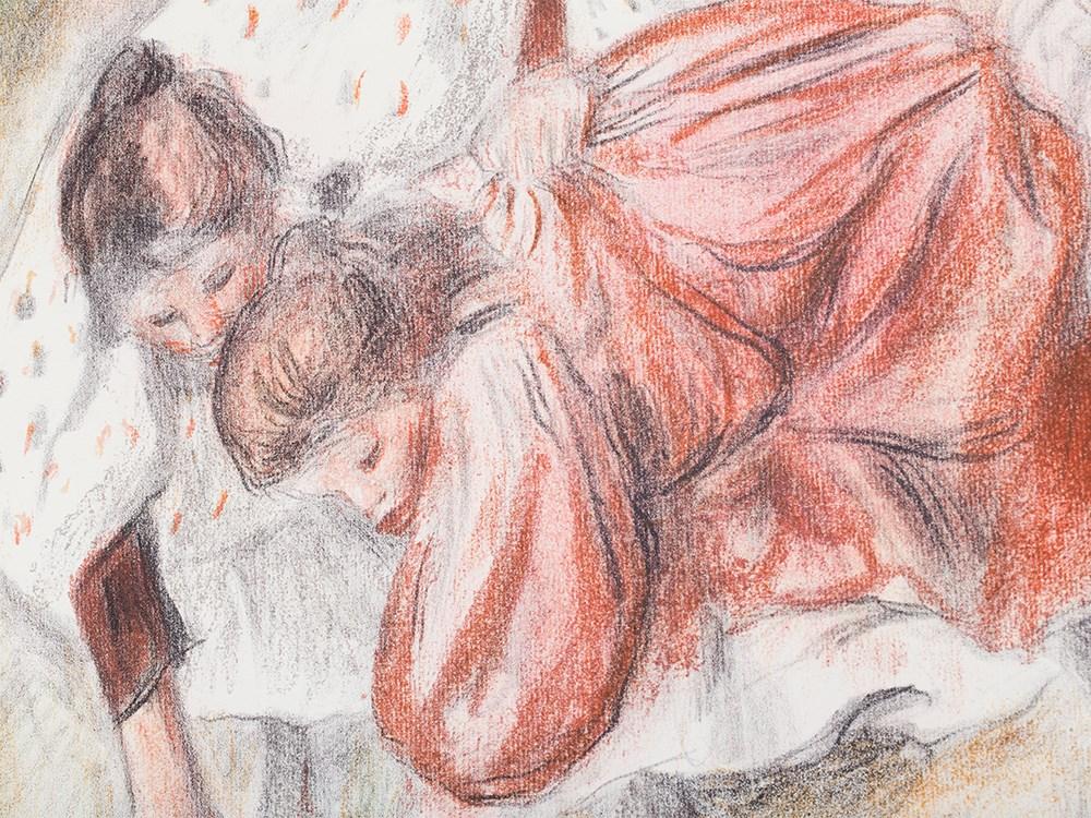 Pierre-Auguste Renoir, Lithograph, 'Enfants Jouant à la balle'. Schätzpreis: 60 000 EUR. Auctionata