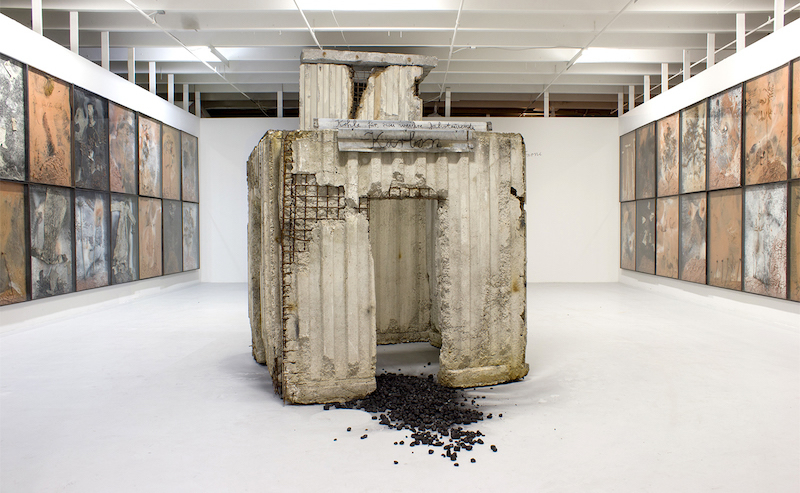 """Anselm Kiefer: Paintings, Sculpture, Installation"" Image via the Margulies Collection."
