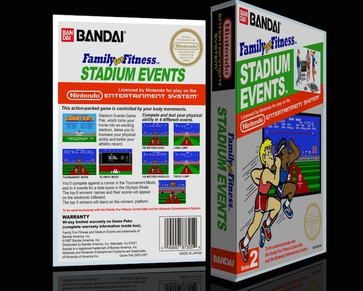 """Det eftertraktade spelet """"Stadium events""""."""