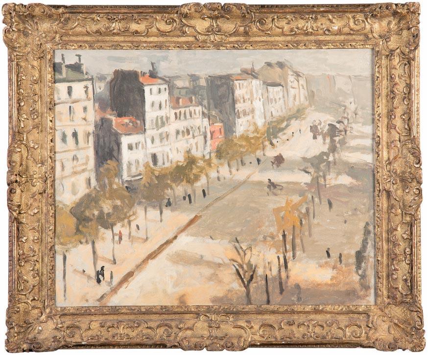 Albert Marquet Avenue de Versailles Galerie Dreyfus
