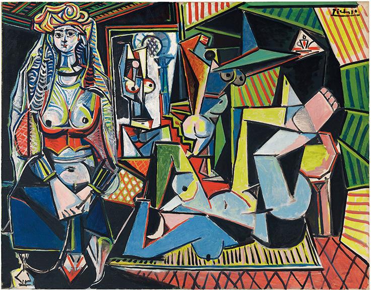 Les femmes d'Alger. Bild via christies.com