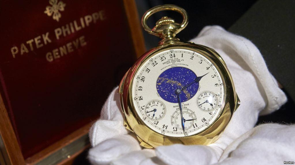 La Patek Philippe Supercomplication de Henry Graves a été vendu aux enchères par Sotheby's à Genève en 2014 pour 24 millions de dollars