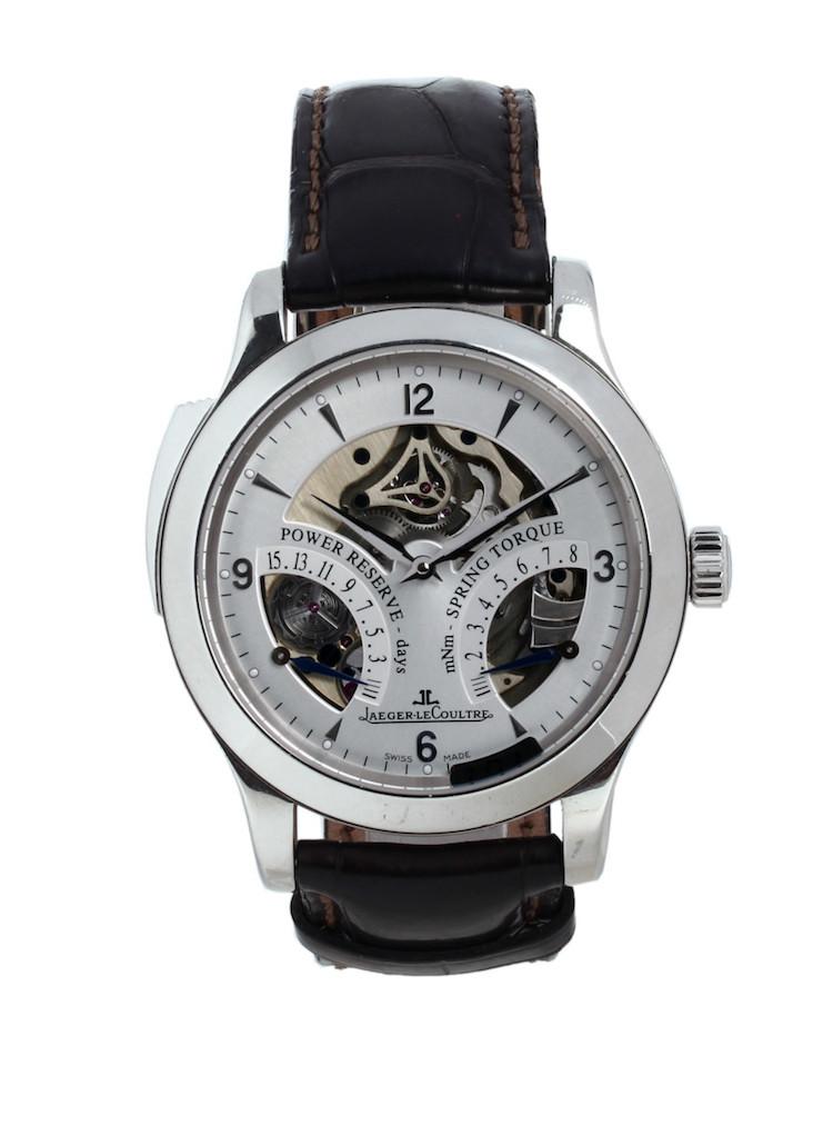 Det dyraste armbandsuret just nu på Barnebys säljs hos Uret Vintage och kostar 676 200 kronor. Modellen är en JAEGER LECOULTRE Master Minute Repeater 151667S