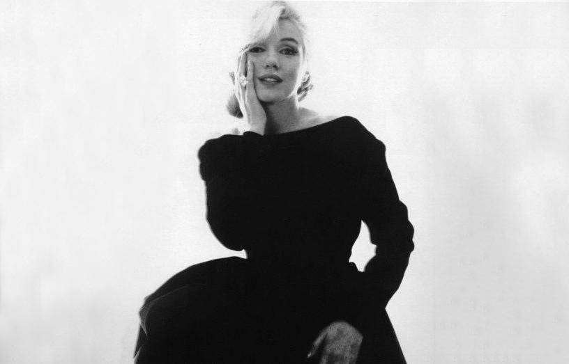 Marilyn Monroe en Christian Dior Haute Couture, photographie par Bert Stern, pour Vogue 1962