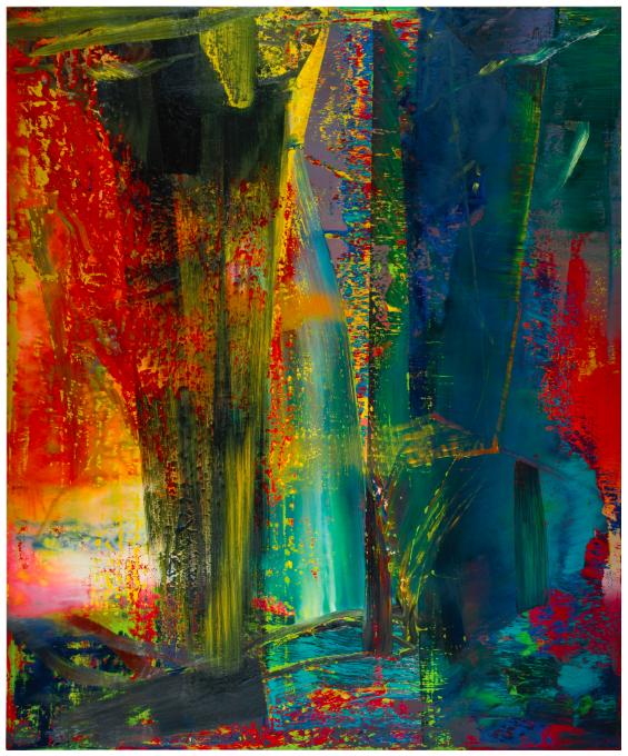 Gerhard Richter, Abstract Framework (809-1)