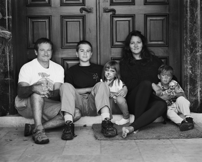 Familjen Williams år 1995. Bild: Marsha Garces Williams Collection, av Arthur Grace.