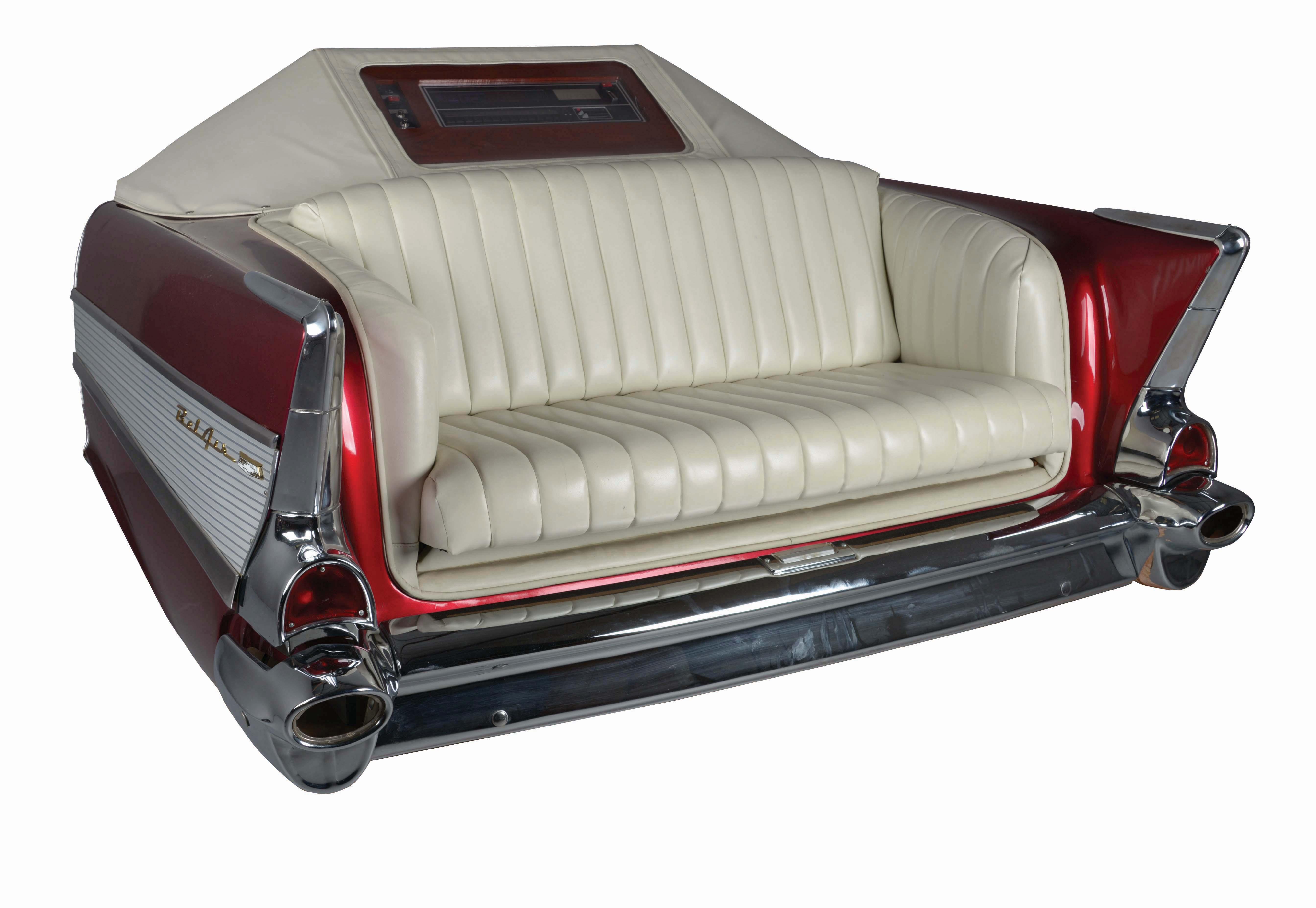 """The Ultimate Jukebox"", kombinerad soffa och jukebox. Foto: Morphy Auctions."