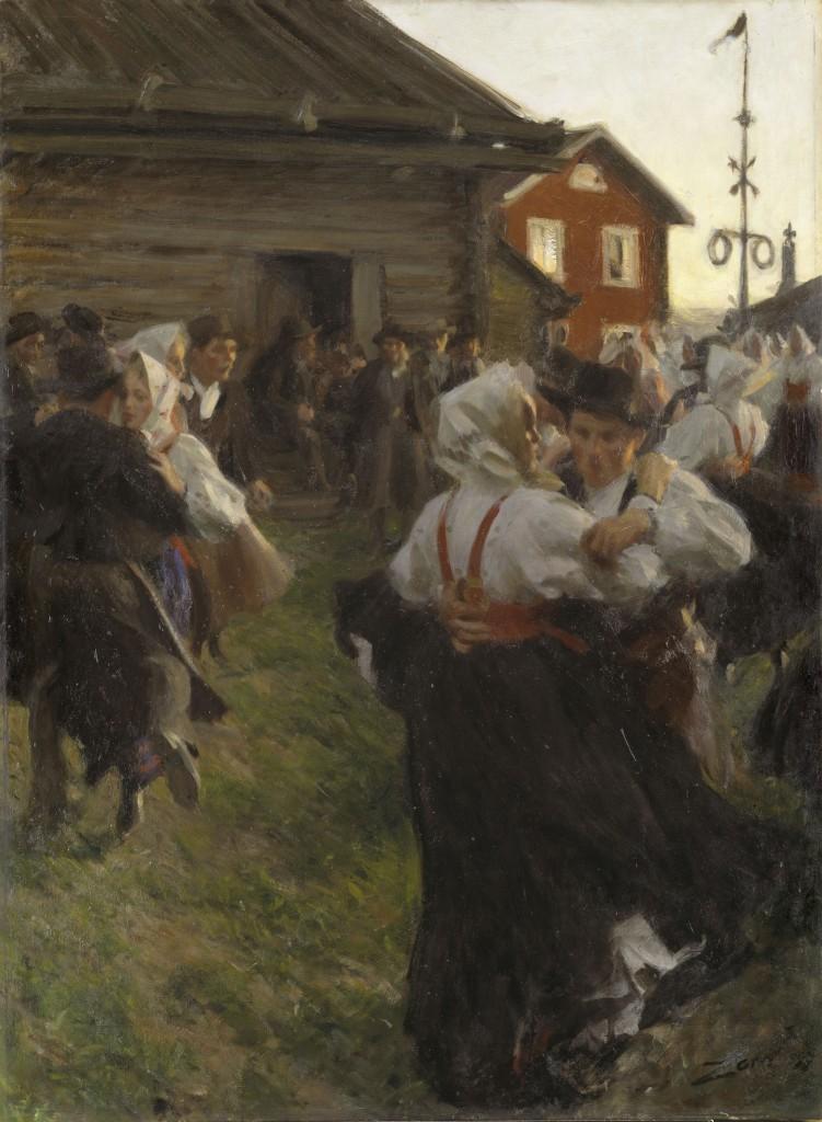 Zorngården 1895, image ©Zornmuseet